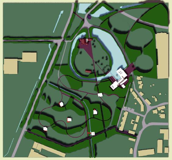 Aabenraa Museum site plan