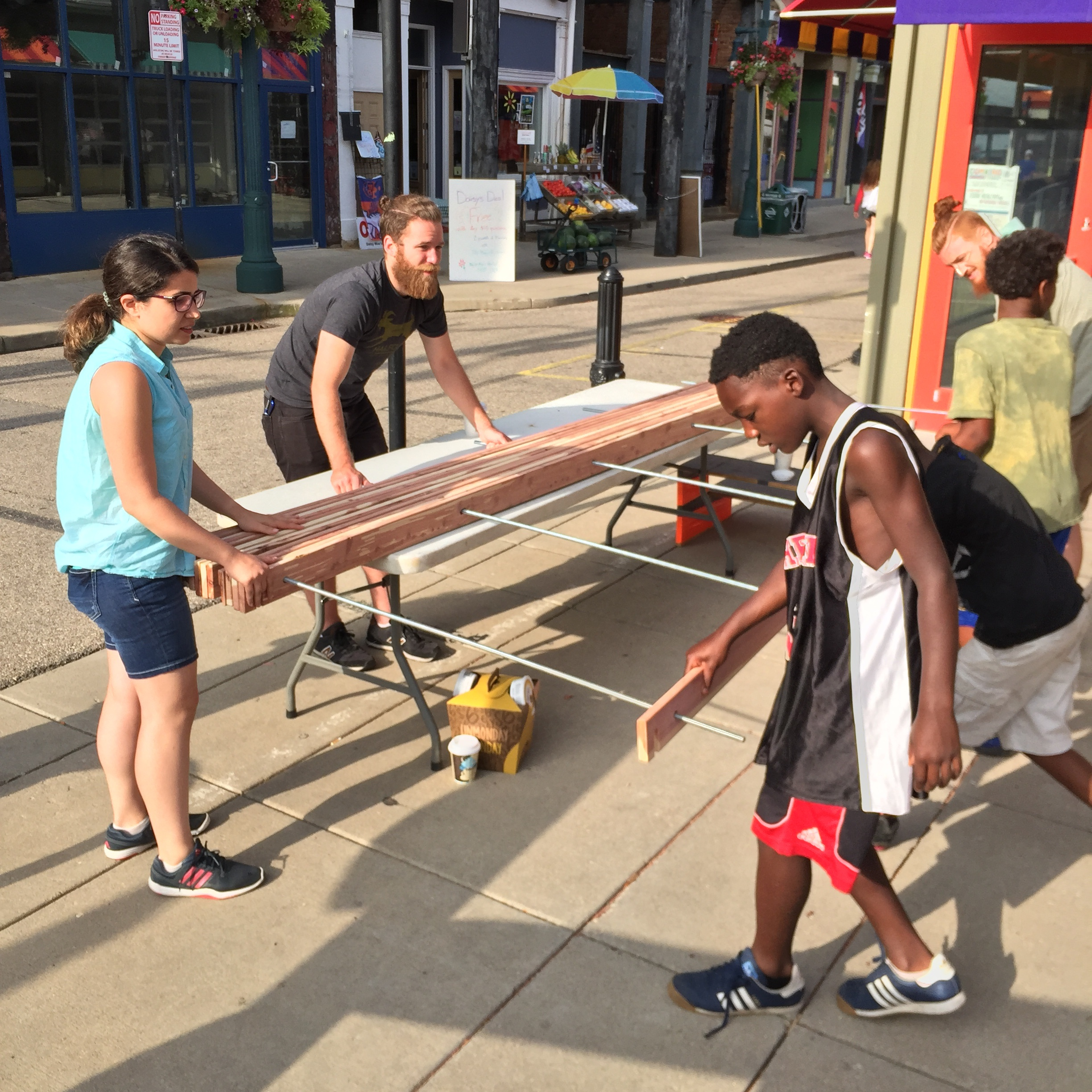 Findlay Market Bag Kiosks,