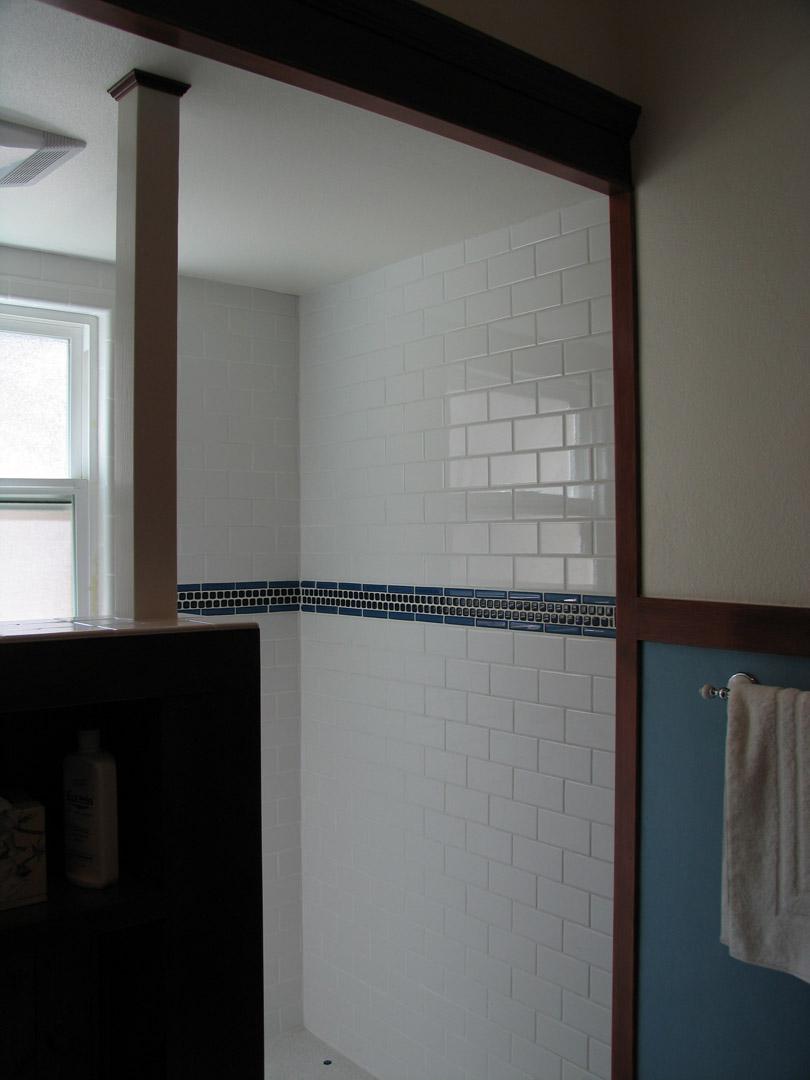 Lewis bathroom renovation