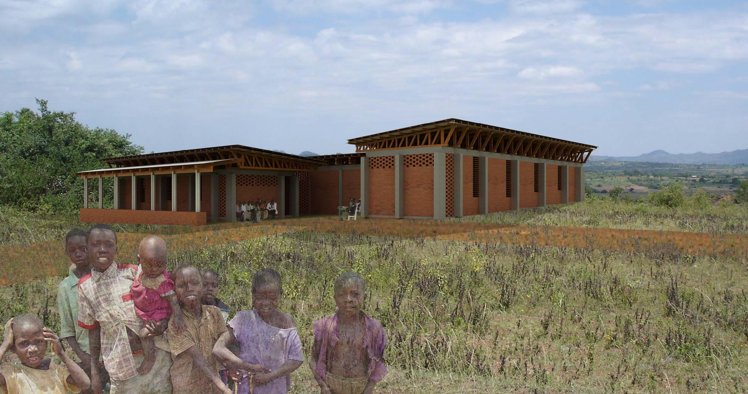 Roche Health Center Clinic rendering - 2009