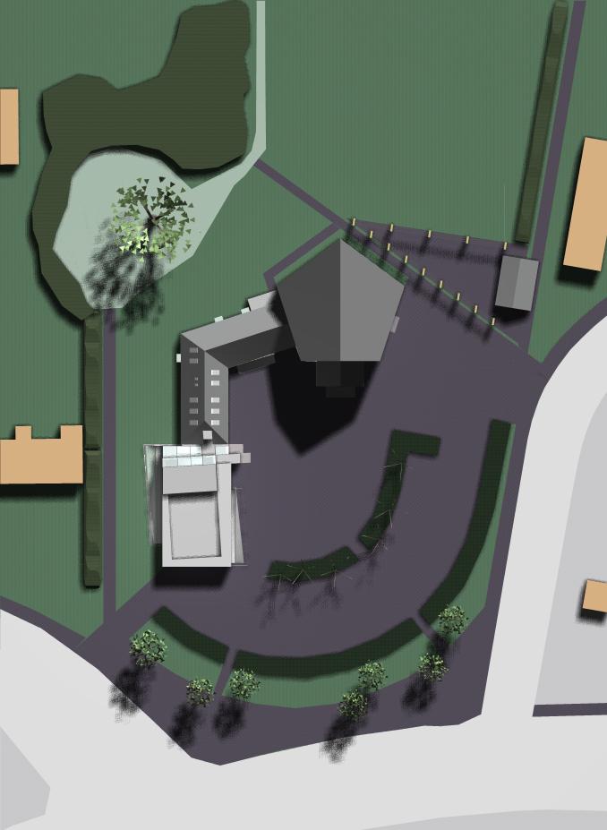 Sorgenfri Church addition site plan